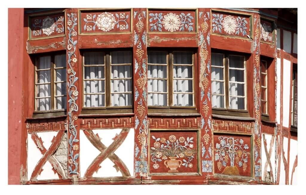 Historisches Fachwerk in Rhens, Foto: Frauke Altmeier