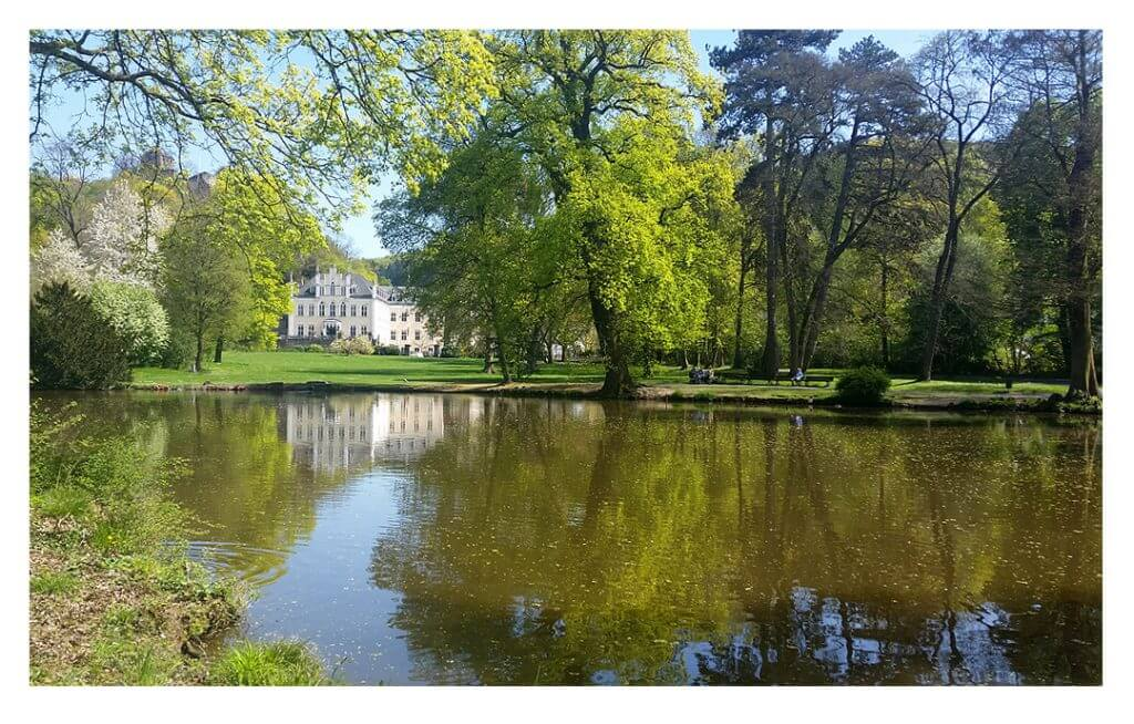 Blick auf Schloss Sayn in Bendorf-Sayn, Foto: Julia Caspari