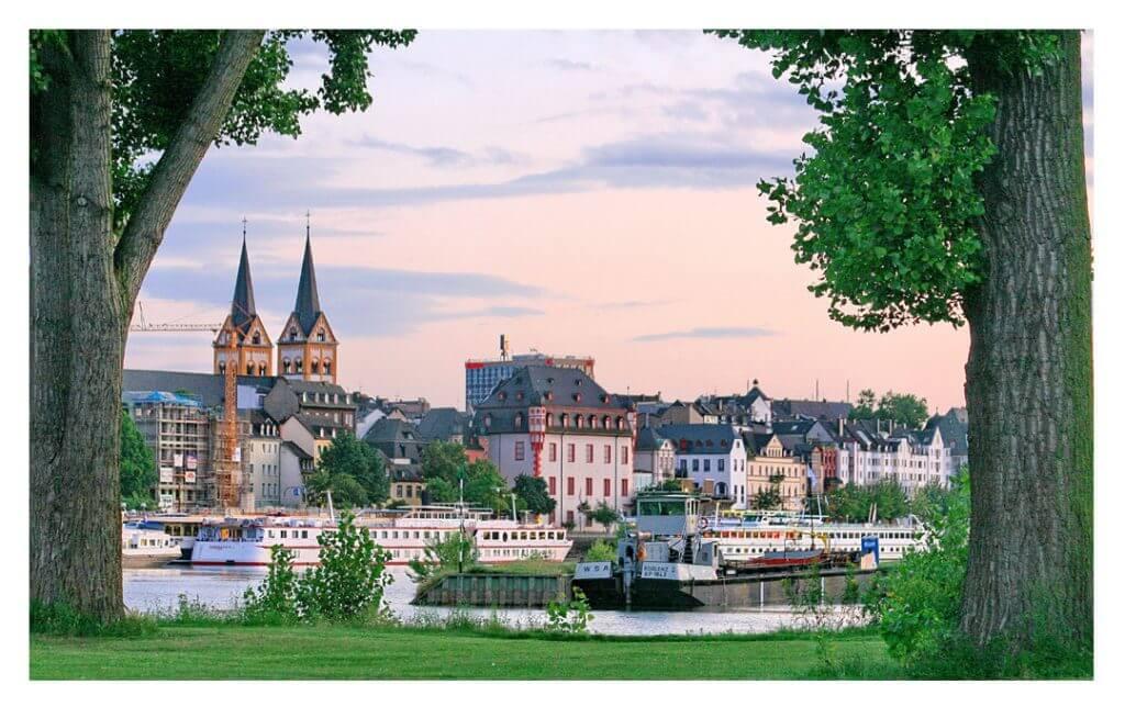 Blick auf die Koblenzer Altstadt, Foto: Dieter Krämer