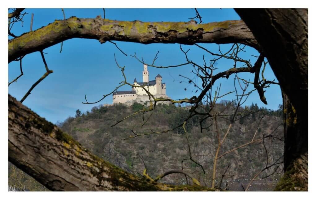 Blick auf die Marksburg, Foto: Wolfram Jörres
