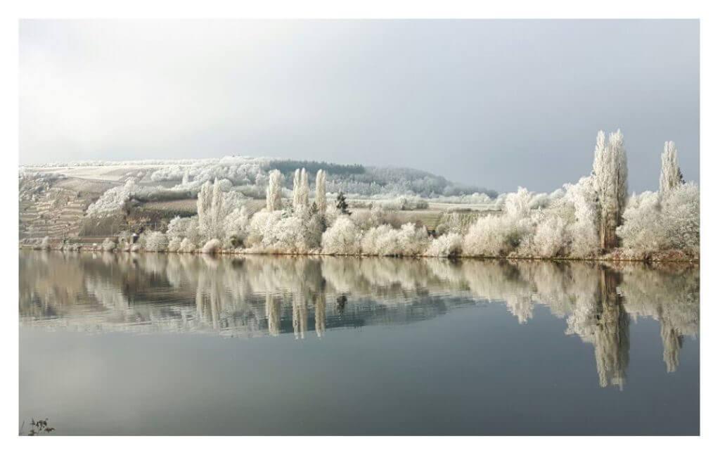Winterimpression Mosel, Foto: Jean-Luc Mundel