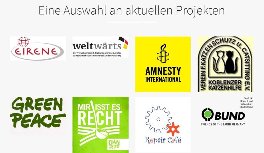 Help-O-Mat: Projekte