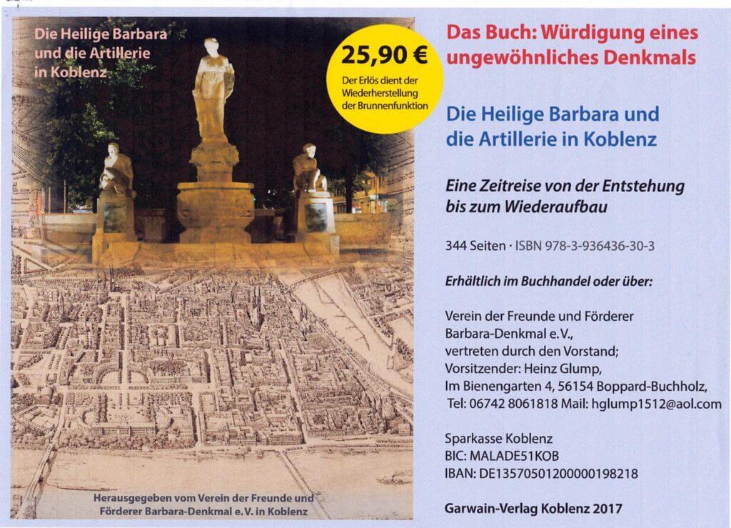 Buch zum Barbara-Denkmal