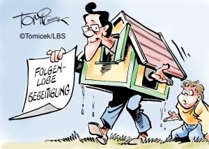 Infodienst Recht und Steuern der LBS: Schwarzbau im Garten und die Folgen; Bild Tomicek