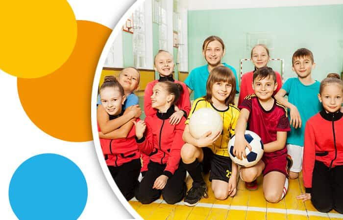 Kinder im Sportverein
