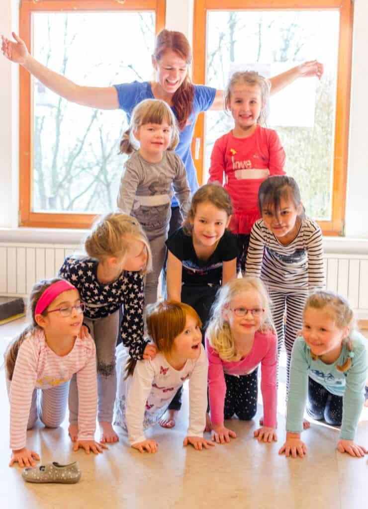 Zirkus im Kindergarten