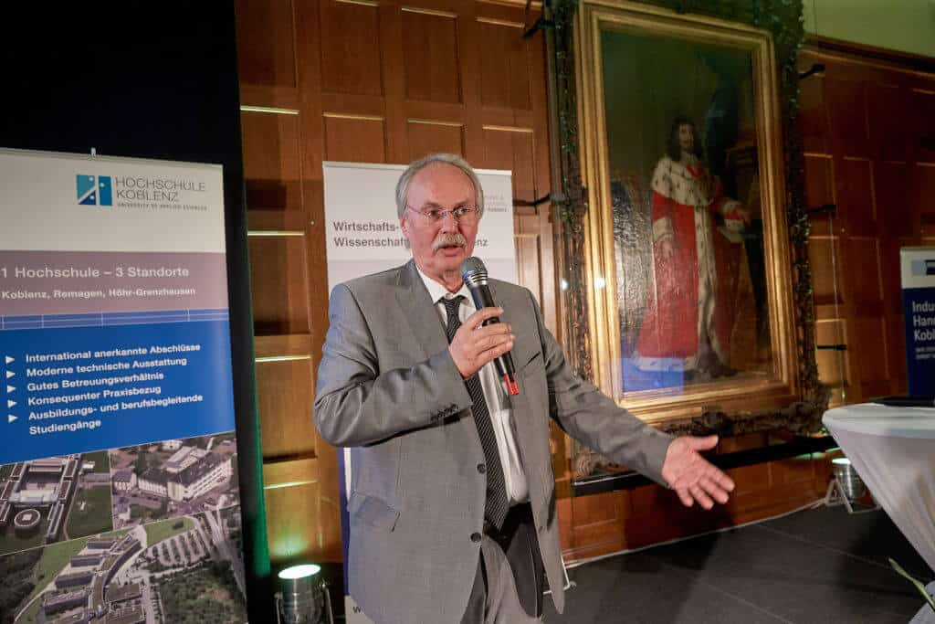 Koblenzer Hochschulpreis 2018: Präsident Bosselmann-Cyran