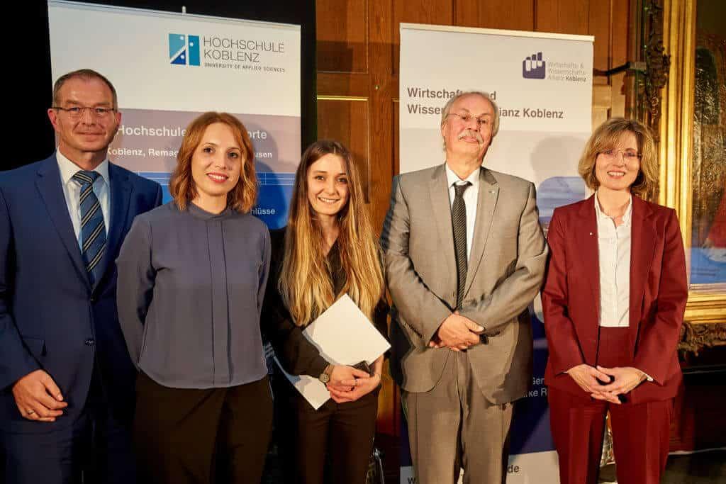 Koblenzer Hochschulpreis 2018: Preisträger Hochschule Koblenz