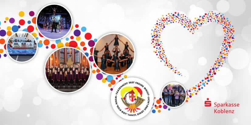 Viele Organisationen, wie der Jugendkammerchor Koblenz, der Mosella Tanzverein Kobern-Gondorf oder die Cheerleader des Sportvereins Urmitz, haben ihr Projektziel bei der Verdopplungsaktion erreicht.