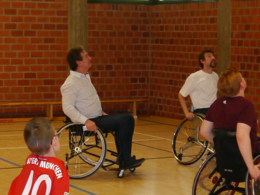 Rollstuhlgemeinschaft_Sport im Rollstuhl