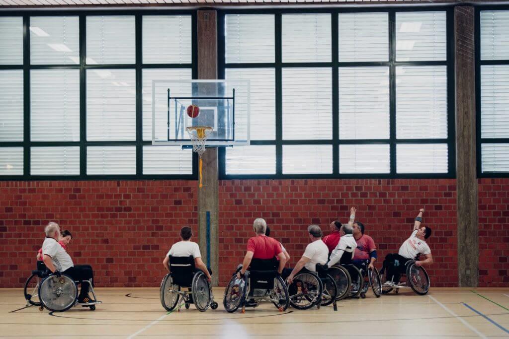 Rollstuhlgemeinschaft_Training für Rollstuhlsport