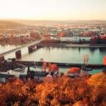 Herbstlicher Blick auf das Kurfürstliche Schloss | Patrick Hohl