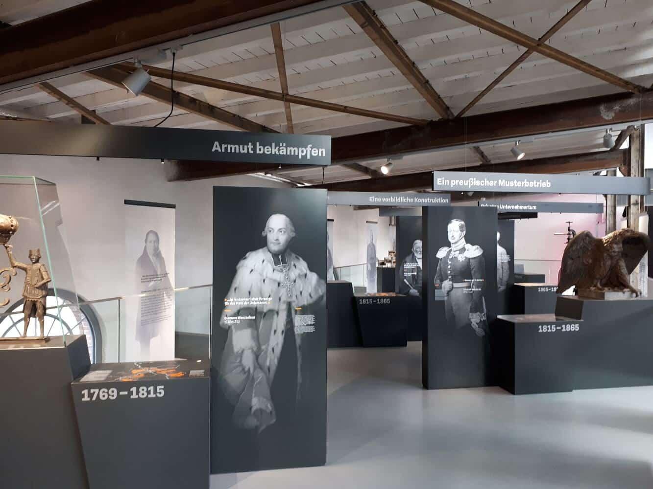 Sayner Hütte: Dauerausstellung Krupp'sche Halle