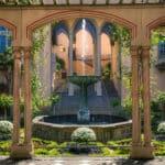 Pergolagarten im Schlossgarten von Schloss Stolzenfels