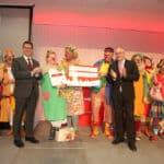HeimatHelden-Preisverleihung 2019: Gruppenbild Klinik-Clowns e.V.