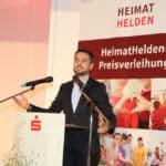 HeimatHelden-Preisverleihung 2019: Laudator David Langner, Oberbürgermeister der Stadt Koblenz