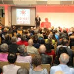 HeimatHelden-Preisverleihung 2019: Moderator Tom Theisen, TomTom PR-Agentur