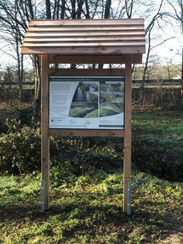 Hinweisschild am Lehrpfad in Mülheim-Kärlich