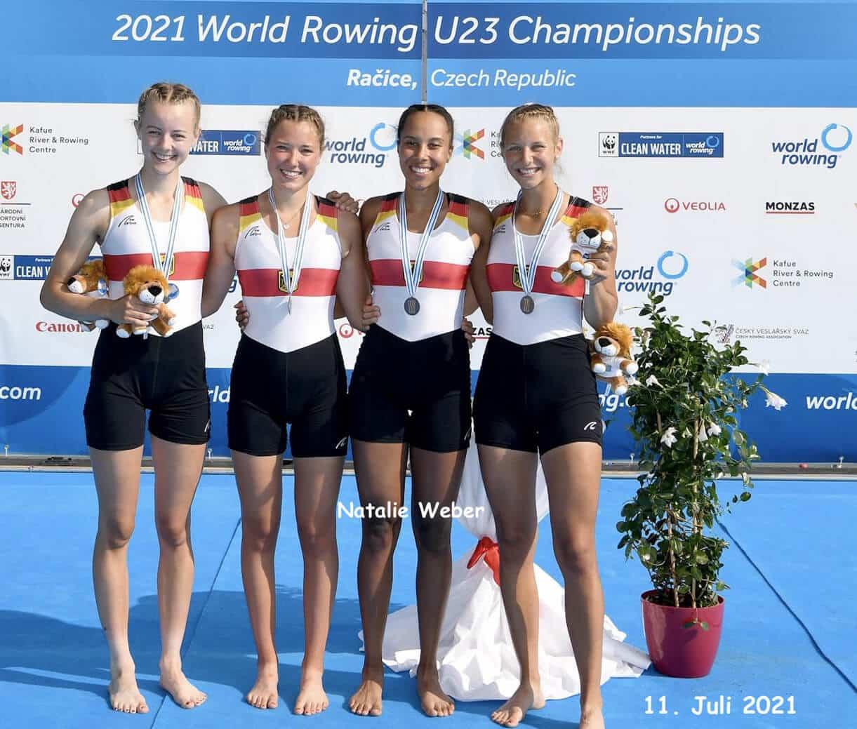 Eliteschule des Sports: U23-VizeWeltmeisterinnen