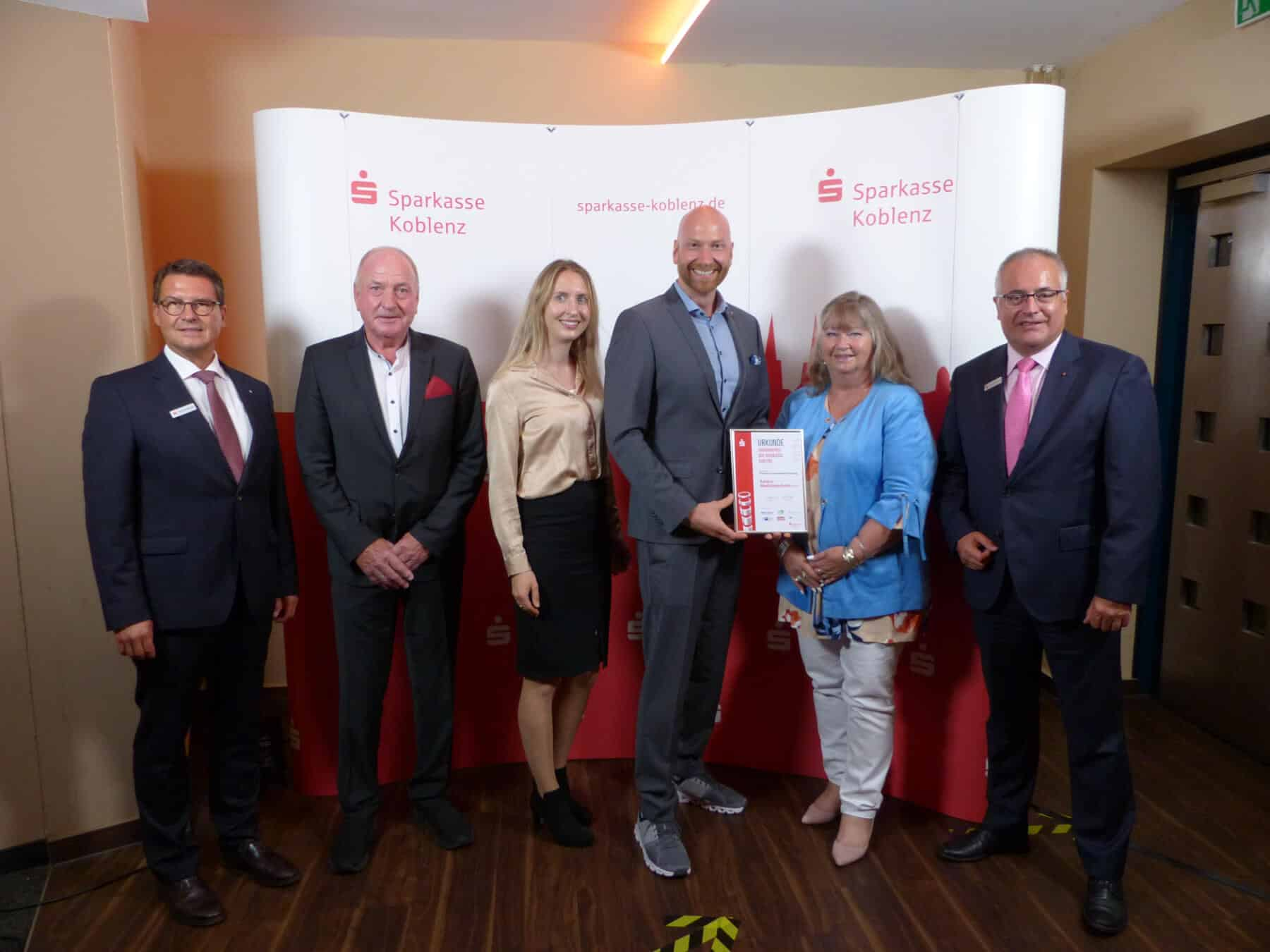 """Den Preis für """"Kreative Unternehmerleistung"""" bekam die Firma Baldus Medizintechnik GmbH aus Bendorf."""